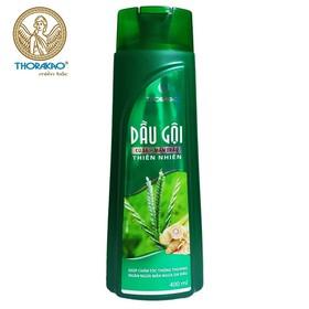 Dầu gội củ sả mần trầu ngăn rụng tóc, giảm nấm ngứa Thorakao 400ml - pzt05