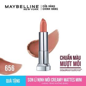 Son lì mịn môi Maybelline Csens Lip Mini Creamy 656 AS MTS - G3746300