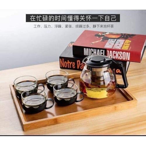 Bộ bình lọc trà thuỷ tinh kèm 4 ly uống trà - 19214823 , 24908862 , 15_24908862 , 75000 , Bo-binh-loc-tra-thuy-tinh-kem-4-ly-uong-tra-15_24908862 , sendo.vn , Bộ bình lọc trà thuỷ tinh kèm 4 ly uống trà