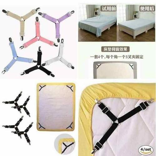 Set 4 kẹp drap - ga giường chống xô lệch - 19765450 , 24906677 , 15_24906677 , 85000 , Set-4-kep-drap-ga-giuong-chong-xo-lech-15_24906677 , sendo.vn , Set 4 kẹp drap - ga giường chống xô lệch