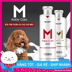 Sữa tắm cao cấp M Rolay Care Cho Chó Mèo 500ml