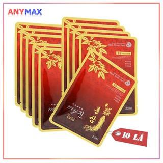 Mặt nạ nhân sâm đỏ My Gold Hàn Quốc 23g - Mặt nạ nhân sâm My Gold thumbnail