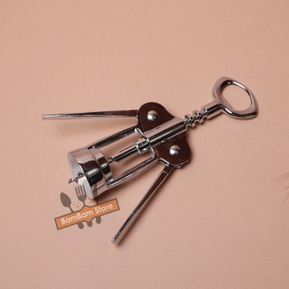 Dụng cụ khui ruou vang inox cao cấp KRS01 BamBam Store - KRS01 thumbnail