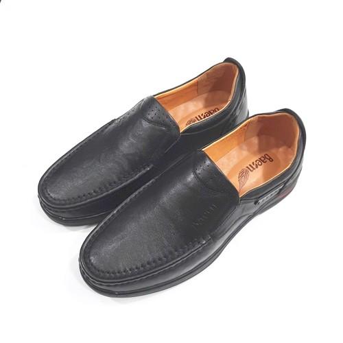 Giày lười nam da đen gdnbm0700