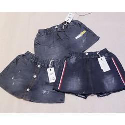 Quần váy jean cho bé gái size đại