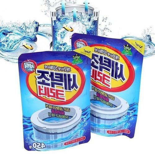 Bộ 2 túi bột vệ sinh lồng máy giặt hàn quốc
