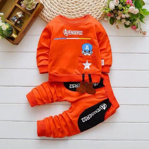 Sét bộ quần áo thu đông cho bé 1-5 tuổi