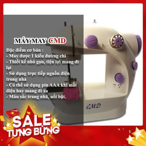 Siêu sale máy may mini có đèn led cmd máy khâu mini tiện lợi tiện dụng