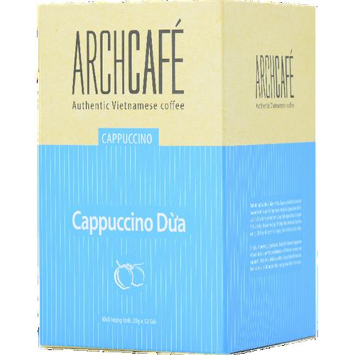 Archcafé - cappuccino dừa - cà phê dừa