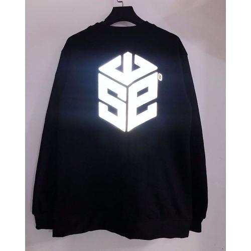 Áo sweater swe phản quang unisex - streetwear easy sweatshirts reflect