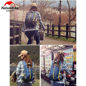 Balo du lịch đi xe đạp dã ngoại leo núi Naturehike NH15C001-B - NH15C001-B