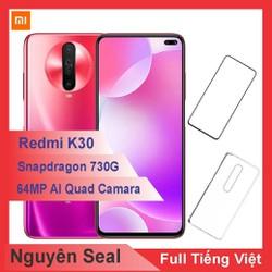 Điện thoại Xiaomi Redmi K30 128GB ram 6GB + Ốp lưng + Cường lực - Hàng Nhập Khẩu - k30