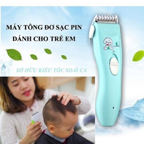 Bộ tông đơ cắt tóc cho bé an toàn mà tiện dụng