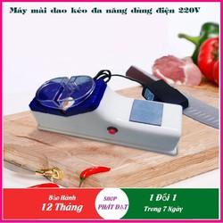 Máy mài dao kéo bằng điện đa năng tự động Tặng kèm thêm miếng đá mài thủ công (bán lẻ dao dọc giấy)