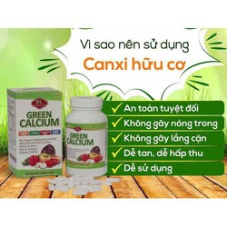 Green Calcium - canxi hữu cơ cho bà bầu