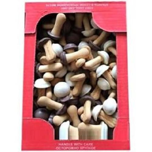 Bánh nấm chocolate nga hộp 300 gam, hsd 10-2020