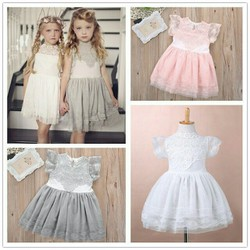 Combo váy ren cao cấp cho bé