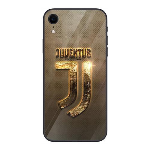 Ốp điện thoại kính cường lực cho máy iphone xr - juventus ms abkha003