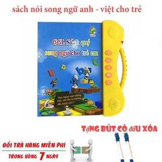 Sách nói điện tử song ngữ Anh-Việt đọc hát kể chuyện GGL-SN - sach noi dien tu- BH 3 Tháng - 02315 thumbnail