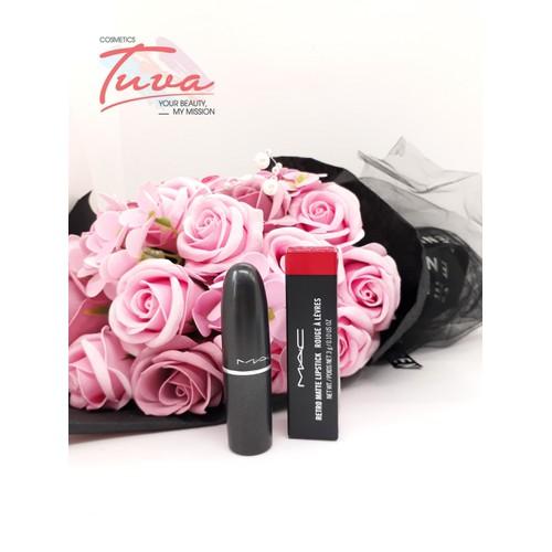 Son thỏi mac retro matte lipstick ruby woo - 21118977 , 24270137 , 15_24270137 , 428000 , Son-thoi-mac-retro-matte-lipstick-ruby-woo-15_24270137 , sendo.vn , Son thỏi mac retro matte lipstick ruby woo