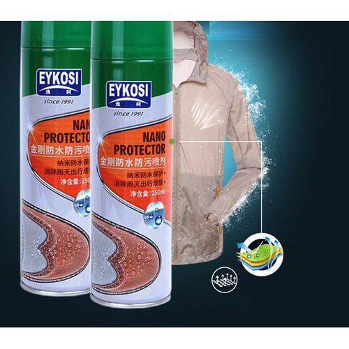 Hot chai xịt chống nước eykosi bảo vệ đồ dùng giày dép quần áo khi gặp trời mưa re - 21102401 , 24247077 , 15_24247077 , 108750 , Hot-chai-xit-chong-nuoc-eykosi-bao-ve-do-dung-giay-dep-quan-ao-khi-gap-troi-mua-re-15_24247077 , sendo.vn , Hot chai xịt chống nước eykosi bảo vệ đồ dùng giày dép quần áo khi gặp trời mưa re