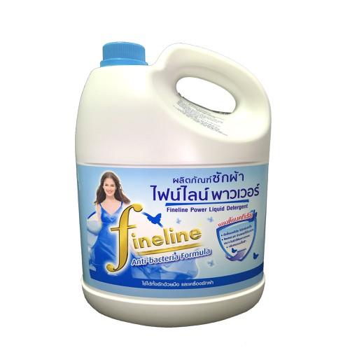 Nước giặt đậm đặc fineline công thức chống khuẩn chai 3000ml xanh