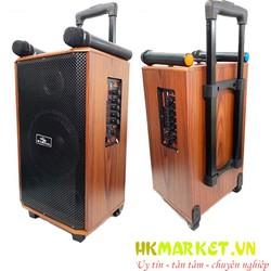 Loa Kéo K88 Kiomic mẫu mới nghe cực hay tặng kèm 2 mic không dây