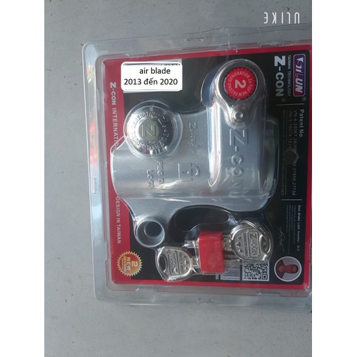 Khóa đĩa chống trộm xe máy zcon cho xe air blade 2013 đến 2020 - 19573592 , 24261909 , 15_24261909 , 199000 , Khoa-dia-chong-trom-xe-may-zcon-cho-xe-air-blade-2013-den-2020-15_24261909 , sendo.vn , Khóa đĩa chống trộm xe máy zcon cho xe air blade 2013 đến 2020