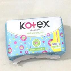 Băng vệ sinh Kotex hàng ngày kháng khuẩn 20 miếng