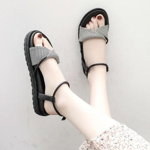 Giày sandal quai caro hàng nhập cao cấp k1