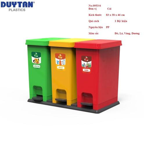 [ free ship ] thùng rác eco bộ 3 duy tân no.0953-3 - 3 ngăn phân loại rác hữu cơ, nhựa, giấy, khác - 21108782 , 24255725 , 15_24255725 , 450000 , -free-ship-thung-rac-eco-bo-3-duy-tan-no.0953-3-3-ngan-phan-loai-rac-huu-co-nhua-giay-khac-15_24255725 , sendo.vn , [ free ship ] thùng rác eco bộ 3 duy tân no.0953-3 - 3 ngăn phân loại rác hữu cơ, nhựa, g