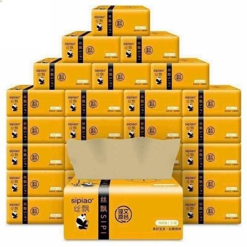 Giấy ăn vàng 1 thùng 27 gói cực dai mềm mại sạch sẽ an toàn - 21108665 , 24255597 , 15_24255597 , 169000 , Giay-an-vang-1-thung-27-goi-cuc-dai-mem-mai-sach-se-an-toan-15_24255597 , sendo.vn , Giấy ăn vàng 1 thùng 27 gói cực dai mềm mại sạch sẽ an toàn