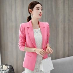 Áo khoác vest, blazer nữ cao cấp phong cách Hàn Quốc - AG74