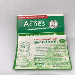 Acnes Oil Remover Paper Giấy thấm dầu 50 tờ