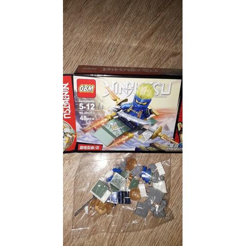 Lắp ráp 1 hộp legoninjutsu 99527 có nhiều chi tiết bằng nhựa abs