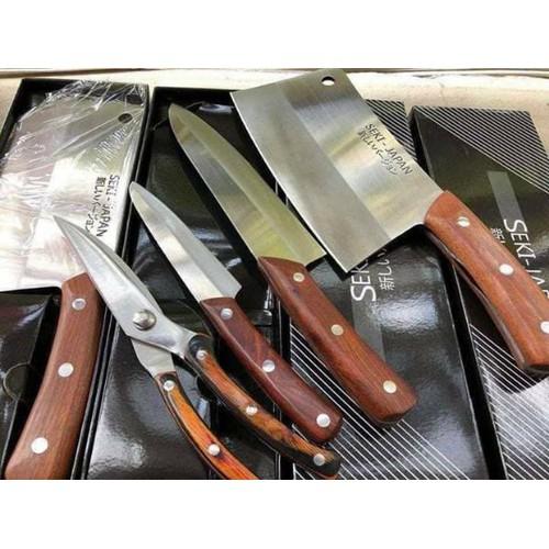 Bộ dao seki nhật bản cao cấp 4 món hàng xịn đẹp