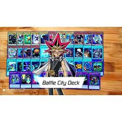 Bộ Bài Batte City Legendary Deck 1 inCard giá rẻ - bài Yugioh