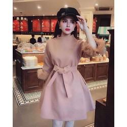 Váy Dạ Chữ A Cao Cấp - P041