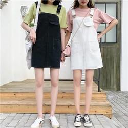 Váy Yếm Phong Cách thời trang