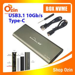 Hộp đựng ổ cứng NVMe Box SSD NVMe Blueendless TypeC ra USB 3.1, TypeC ra TypeC