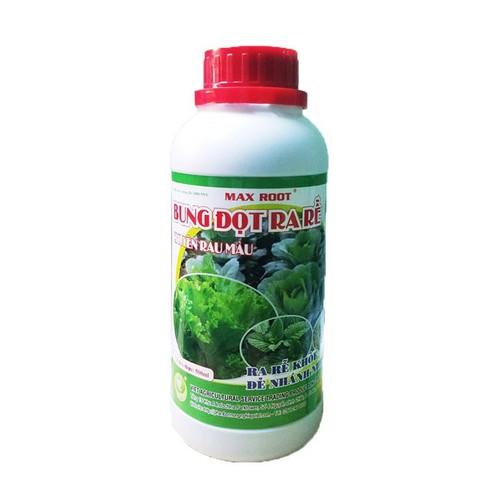 Phân bón trồng rau tại nhà | bung đọt ra rễ | phân bón max root 500ml