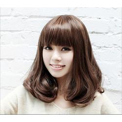 Tóc giả nữ Hàn Quốc kèm búi tóc