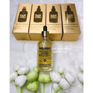Tinh chất vàng 24K sáng da, chống lão hóa, giảm nhăn, căng bóng Luxury Gold Ampoule Medi-peel 100ml - sp1031-7 thumbnail