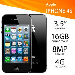 iPhone 4s 16Gb - iPhone 4S Cũ 16Gb Màu Đen Có Sạc