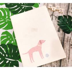 Sổ A4 ình động vật cute