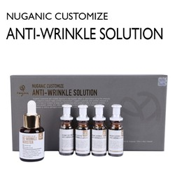 Bộ sản phẩm dưỡng da Nuganic Customize Anti-Wrinkle Solution - Essence 30ml & Ampoule 10mlx4ea