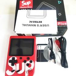 Máy chơi game 4 nút cầm tay 400 trò chơi sup game box 400 in 1 Plus 1 hoặc 2 người chơi [ĐƯỢC KIỂM HÀNG]