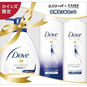[Freeship] Bộ 3 chai gồm Sữa Tắm + Dầu Gội + Dầu Xả Dove Shea Butter Vanilla - Set3Dove