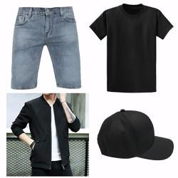 Quần jean, áo khoác, áo thun, nón : Những món đồ thời trang nam cực đẹp cực Hót