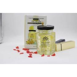 Mặt nạ tổ yến collagen nghệ tây tươi (Tặng kèm máy massage + bông rửa mặt + cọ)